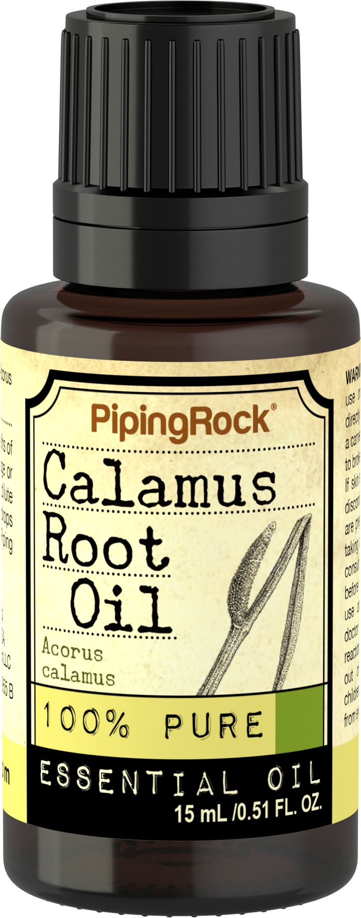 Calamus Root Benzoin 100% Pure Essential Oil | Piping Rock Health Products