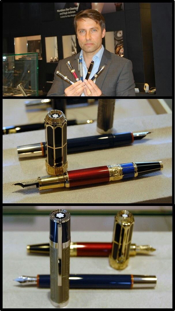 Fountain pens exclusive writing instruments. Montblanc