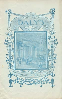 1897 Dalys Vintage Theatre Program - The Taming Of the Shrew - E682