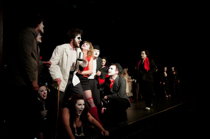 """The Ballad Singer - """"the beggars are begging, the thieves are thieving, the whores are whoring"""" - 'The Threepenny Opera' by Bertolt Brecht, produced by Felt Tip Theatre Company"""