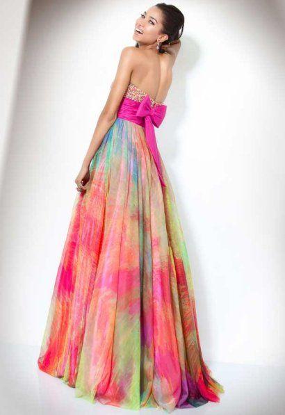 1000  ideas about Rainbow Prom Dress on Pinterest  Pretty dresses ...