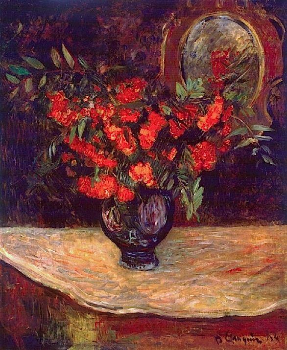bofransson:  Bouquet, 1884 - Paul Gauguin