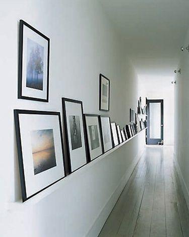 Les 25 meilleures id es de la cat gorie couloir d 39 entr e - Decoration couloir long et etroit ...