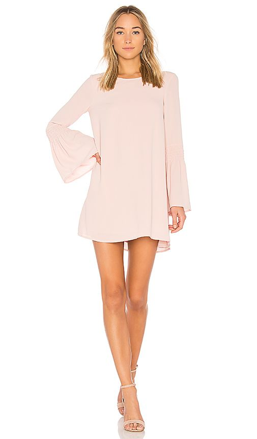 Shop for BCBGeneration Smocked Sleeve Shift Dress In Rose Smoke in Rose Smoke at REVOLVE. Free 2-3 day shipping and returns, 30 day price match guarantee.