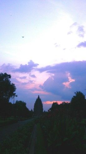 Prambanan Temple in Yogyakarta, Indonesia