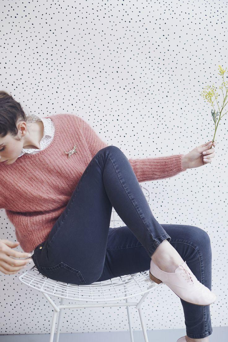 Pull en Kid Mohair / Kid Mohair sweater - http://www.despetitshauts.com/fr/catalogsearch/result/?q=abrinou