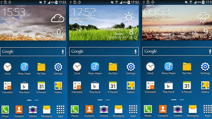 Android Hackz: [APK] Samsung Galaxy S5 Weather Widget - Ported!
