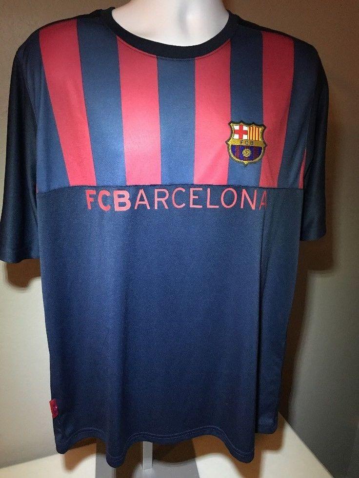 Fc Barcelona Shirt FBC NWT Size XL Extra Large #FCBarcelona