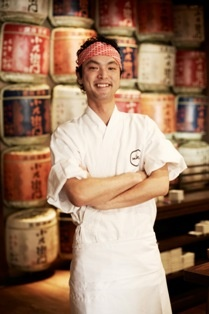 """Shimpei Hatanaka - Sake    Shimpei worked at Sushi Choo before joining Shaun for the launch of Saké Sydney. """"In the two years since I've had the freedom to experiment and create a couple of dishes that highlight the unique umami flavours – it's the wonderful subtlety of Japanese cuisine that still gets me fired up!"""""""