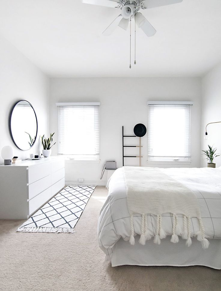 De 10 b sta id erna om scandinavian style p pinterest for Clean bedroom designs