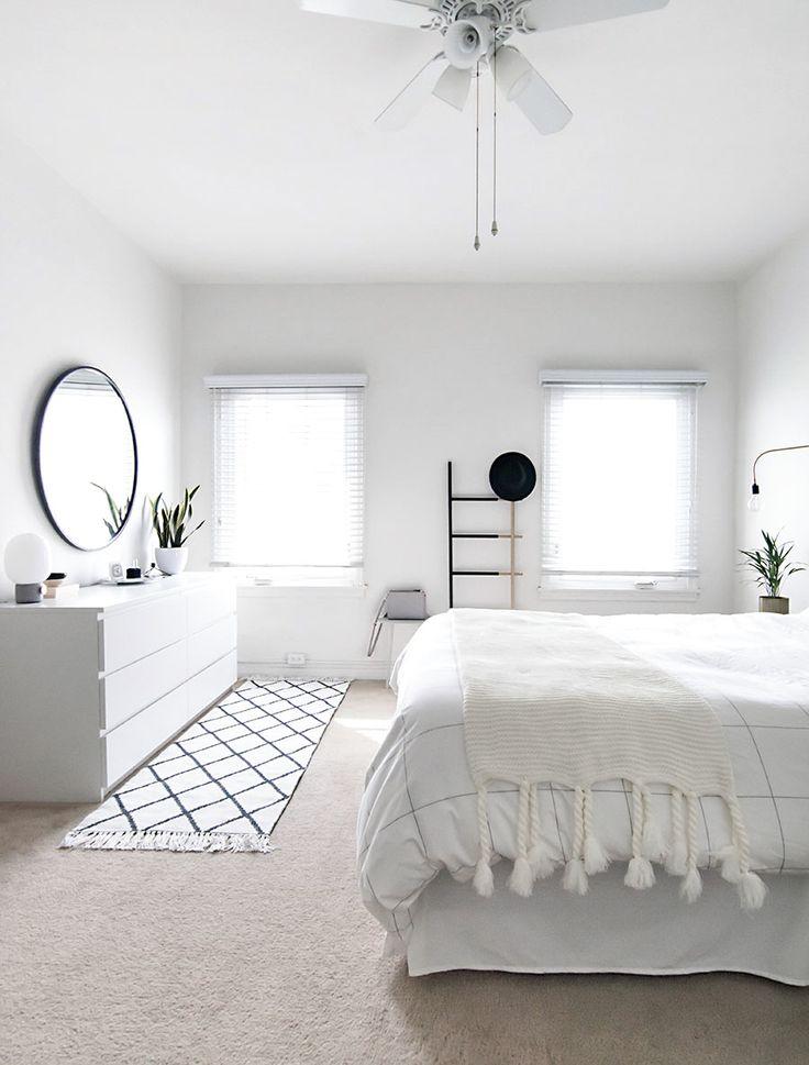 Idee voor de slaapkamer (spiegel heb ik al!) mooi vloerkleed ook