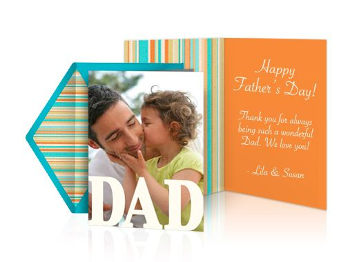 Fathers Day eCards by Punchbowl that look like paper. #free