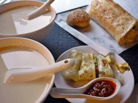 【写真】阜杭豆漿の朝ごはん | 台湾 | トラベルjp<たびねす>