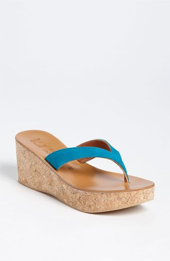 K Jacques St. Tropez 'Diorite' Wedge Sandal available at #Nordstrom