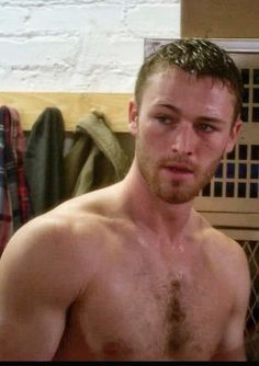 Jake McLaughlin one of the male leads in the new ABC show Quantico