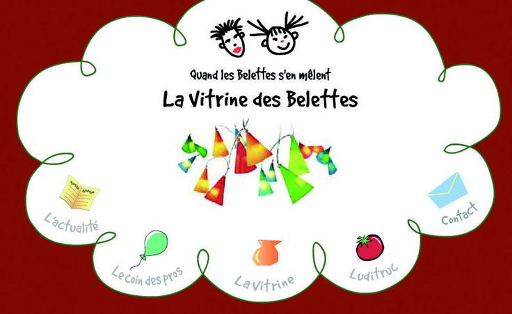Les Belettes : site en flash. Version 1. http://www.lesbelettes.fr/v1/sommaire_intro.htm