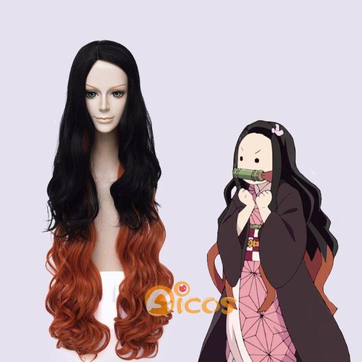 Nezuko Cute Cosplay Hair Demon Slayer Kimetsu no Yaiba ...