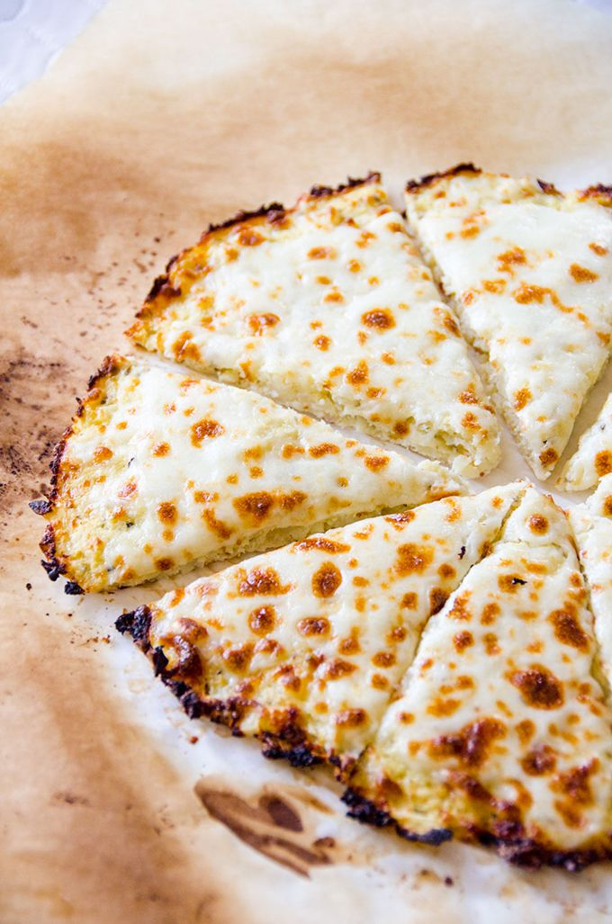 Cauliflower Pizza Crust | Julianne Hough | Bloglovin'
