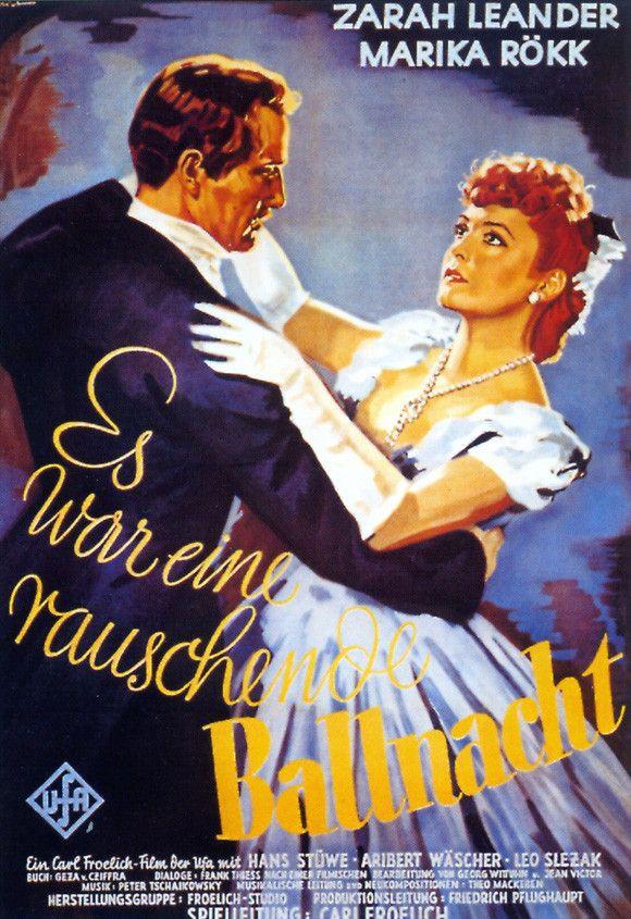 It Was a Gay Ballnight (German) 11x17 Movie Poster (1939