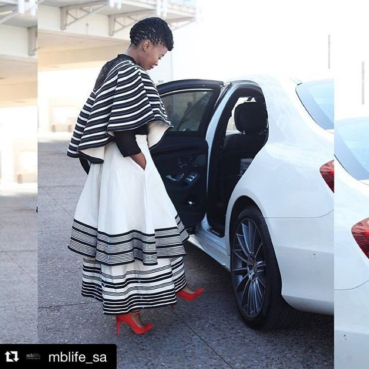#Repost Our special correspondent for #MBFWCT Day 3, @asandasizani is breathtaking in her royalty inspired @ntombobom ensemble