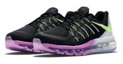 NEW Nike Women's Air Max 2015 Running Shoes Black/Lime/Fuchsia 698903-003 SZ 8.5 #Clothing, Shoes & Accessories:Women's Shoes:Athletic ##nike #jordan #shoes $125.00