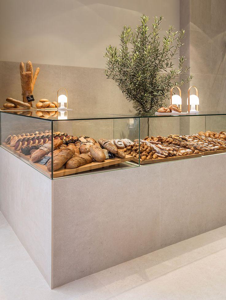 minimalist bakery display