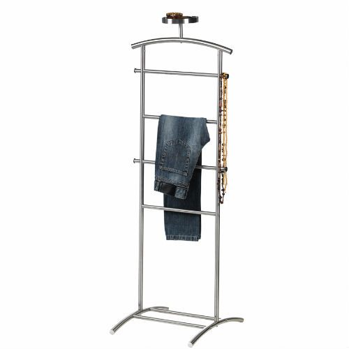 Grundtal Valet Stand Stainless Steel Tie Scarves Ikea