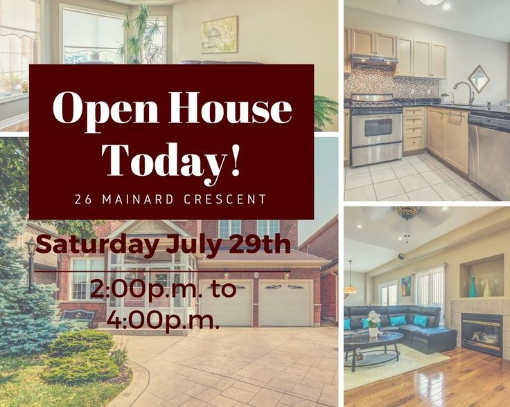 Come Join Us On This Beautiful Day at our OPEN HOUSE & Cool Off With a FREE FREEZIE!!! Saturday July 29th from 2:00 p.m. to 4:00 p.m!!! You Don't Want To Miss This Amazing Home With Top To Bottom Upgrades! See You There!  Check out our virtual tour and floor plans! https://youriguide.com/26_mainard_crescent_brampton_on  #FreeFreezies #CoolDown #CoolDownWithFRET #DontFretWithTheFialhoRealEsateTeam #OpenHouse #BramptonRealEstate #BramptonHomesforSale  #HomesForSale #FialhoRealEstateTeam #FRET