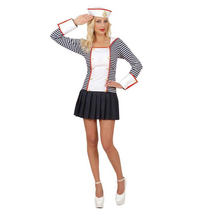 Disfraz de Marinera Sexy #disfraces #carnaval #outlet #rebajas