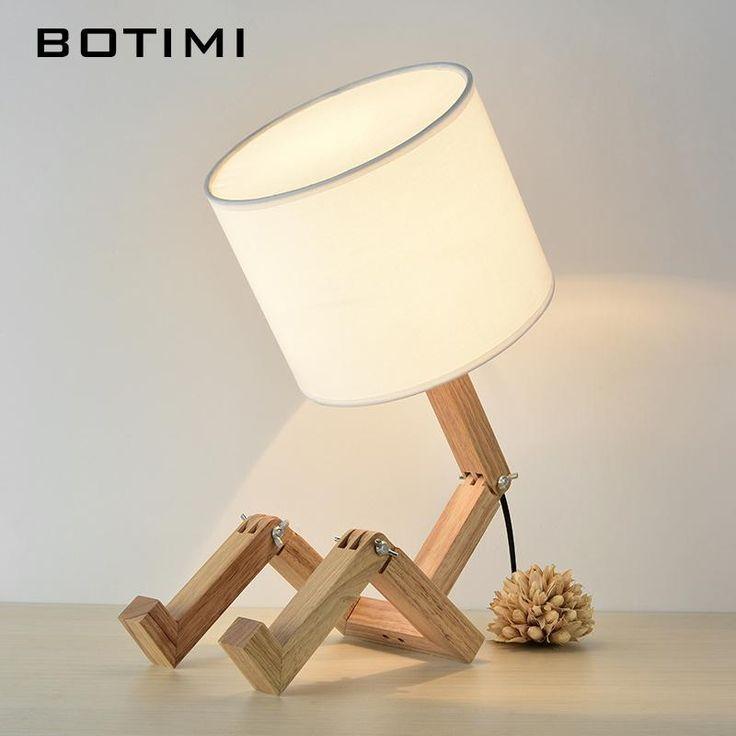 Botimi Table De Chevet En Bois Fr Decora La Maison Diy Lampe De Chevet Lampe Bois Lampe De Chevet Bois