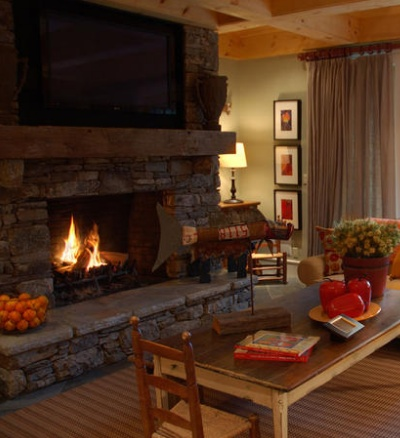 decorate living room with fireplace livings rooms from hgtv homes rustic and 22275