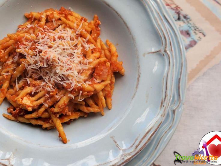 Trofie con pomodoro e ricotta – ricetta semplice #ricette #food #recipes