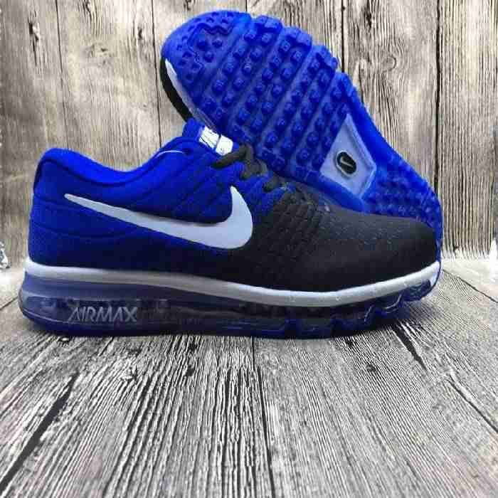 Factory Nike Air Max 2017 Netflix LUNARLUNCH Royal Blue Black Sports Shoes Shop Online - $69.88