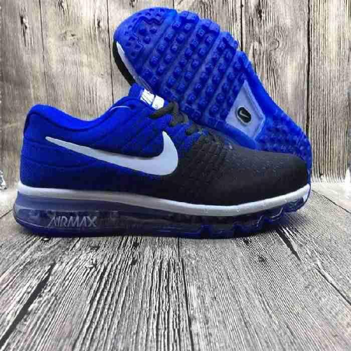 Factory Nike Air Max 2017 Netflix LUNARLUNCH Royal Blue Black Sports Shoes Shop Online - $69.88