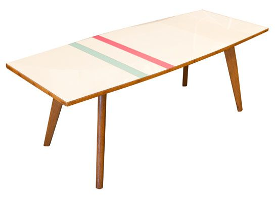 1970's Coffee Table Upcycled by Lucy Turner