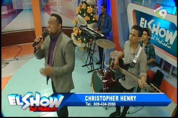 Presentación De Christopher Henry En El Show Del Mediodía