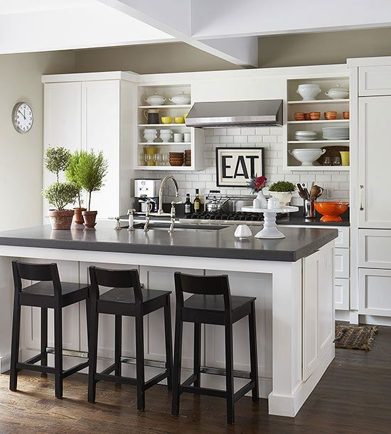 Small White Kitchen Island: Best 25+ Small Open Kitchens Ideas On Pinterest