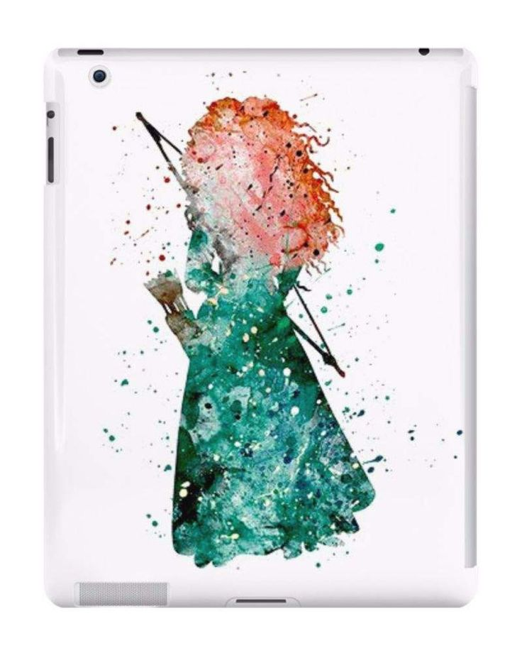 Our Watercolour Princess Merida Brave Disney iPad Case is available online now for just £9.99.    Fan of everything Disney? You'll love our watercolour Princess Merida from Brave iPad case.    Material: Plastic, Production Method: Printed, Weight: 60g, Thickness: 12mm, Colour Sides: White, Compatible With: iPad 2 | iPad 3 | iPad 4 | iPad Air | iPad Mini | iPad Mini 2, Features: Slim fitting one-piece clip-on case that allows full access to all device ports. This iPad case is extremely…
