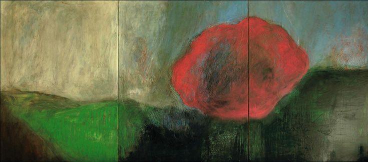 La sinestesia concede al arte un sinfín de posibilidades expresivas; las combinaciones son infinitas e invocan, en su depuración formal, el sincretismo espiritual de la vertiente más lírica de la creación. Así lo concibió Scent Canvas, un proyecto que aunó perfume y pintura, logrando conjurar la potencialidad alquímica de esos trasvases sensoriales. En su tríptico, Maria Coluccelli transpuso al óleo los matices multisensoriales que le inspirara la esencia Rosa ópera.