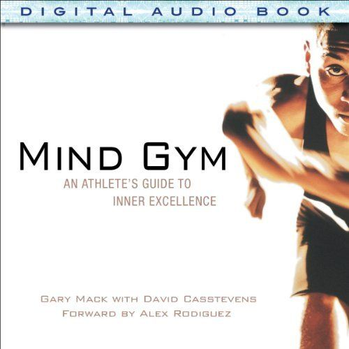 """Mind Gym"" by Gary Mack, narrated by Kevin Young is a motivational fitness audiobook in which Gary Mack explains how your mind influences your performance on the field or on the court as much as your physical skill does, if not more so. Listeners will learn the same techniques and exercises Mack uses to help elite athletes build mental ""muscle."""