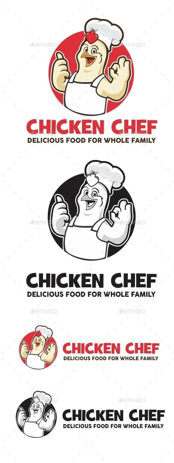 Chicken Chef Logo Template Vector EPS, AI, CDR #logotype Download: http://graphicriver.net/item/chicken-chef-logo/11434496?ref=ksioks