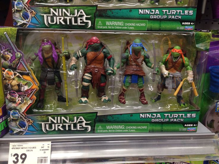Ninja turtle set kmart $40
