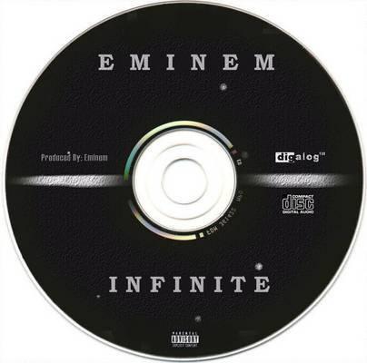 Lp Album Covers   Eminem - Infinite LP CD Cover   Cover Dude el primer album de este icono mundial !EMINEM¡