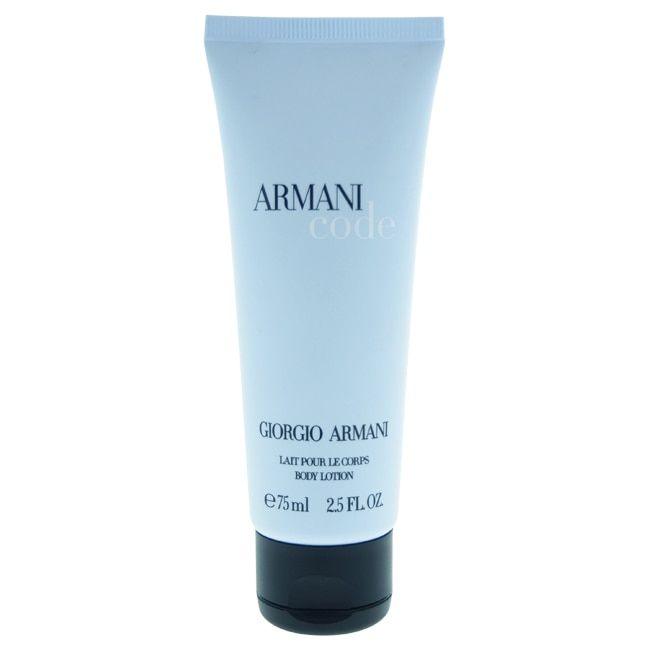 Giorgio Armani Men's 2.5-ounce Armani Code Body Lotion