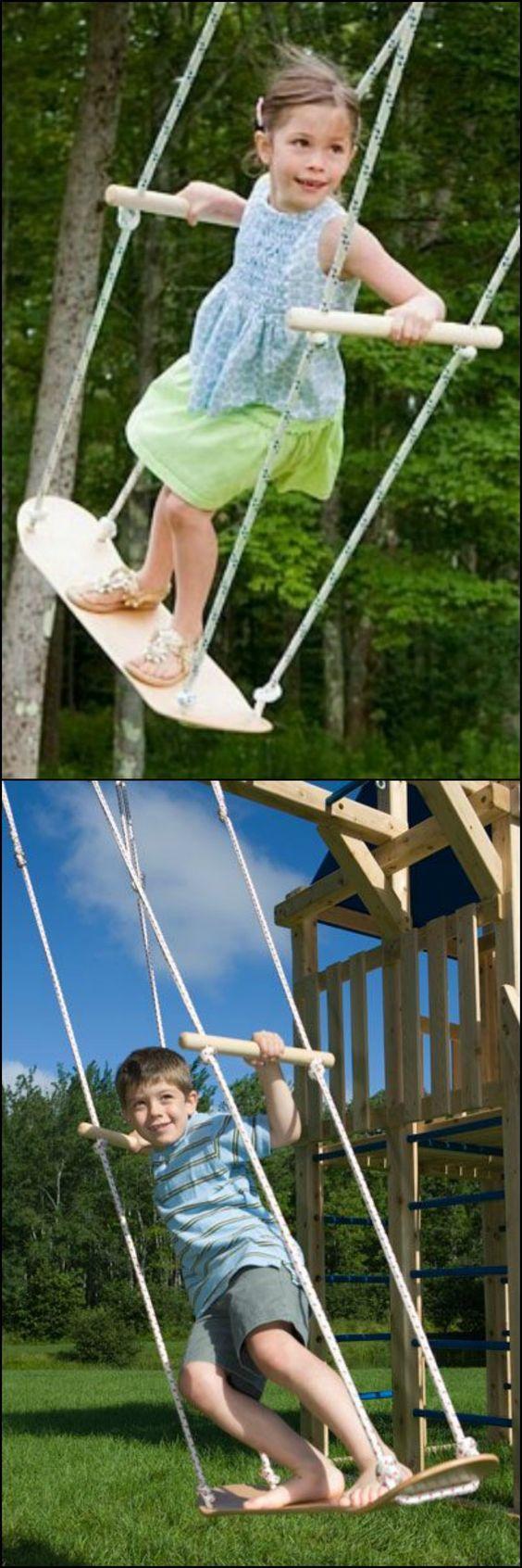 Best 10 skateboard swing ideas on pinterest diy tree for Creative swing set ideas
