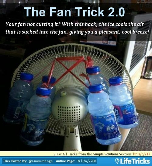 Simple Homemade air conditioner!!