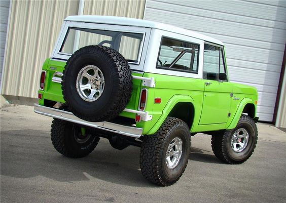 Ford Bronco Convertible