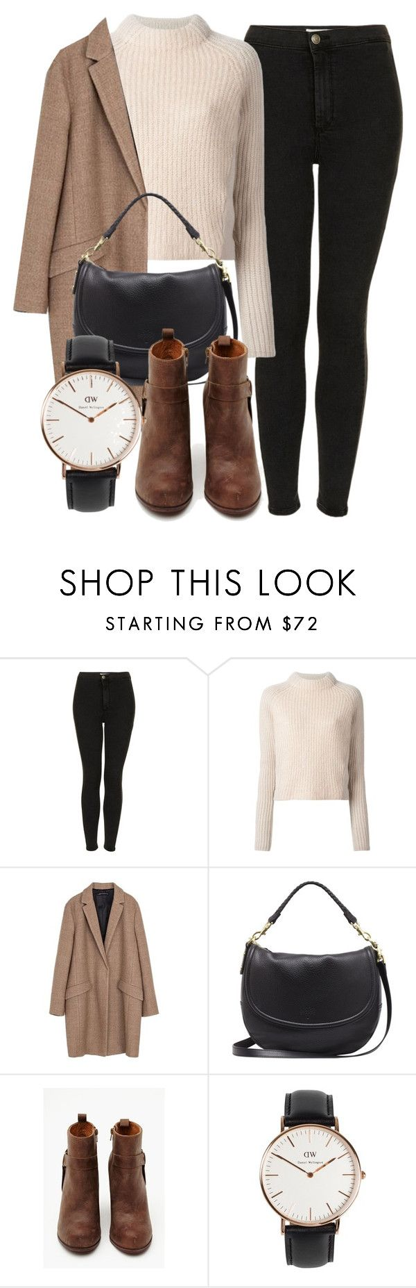 """""""Untitled #5084"""" by laurenmboot ❤ liked on Polyvore featuring Topshop, Acne Studios, Zara, Mulberry, Jeffrey Campbell, Daniel Wellington, women's clothing, women's fashion, women and female"""