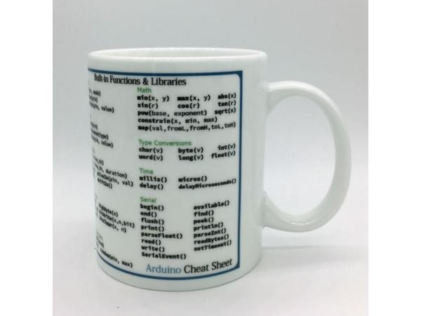 Mug Cup for Geek Arduino Mug Arduino cup cup gift / programmer programmer command lookup table