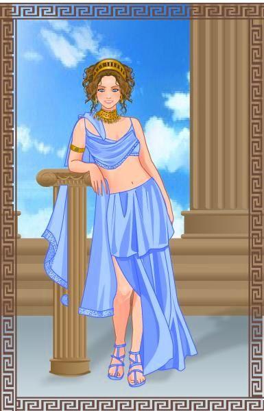 Liliana con estilo griego